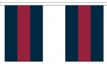 HOUSEHOLD DIVISION BUNTING - 3 METRES 10 FLAGS